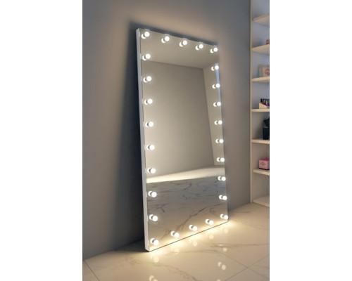 Напольное гримерное зеркало в полный рост без рамы 220x100