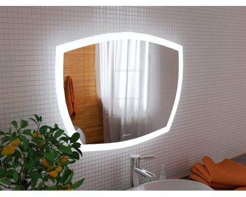 Зеркало с подсветкой для ванной комнаты Асти