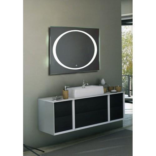 Зеркало косметическое с подсветкой настенное для ванной Данте