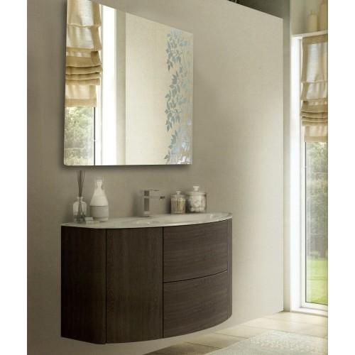 Зеркало в ванную комнату с подсветкой Майя 40x40 см