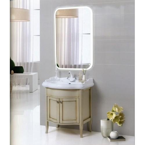 Зеркало в ванную комнату с подсветкой Оливия
